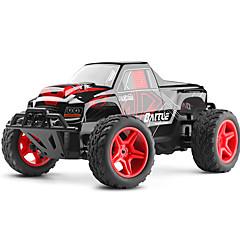 billige Fjernstyrte biler-Radiostyrt Bil 20402 4 Kanal 2.4G Monster Truck Bigfoot 1:20 Børste Elektrisk 40 KM / H