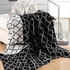 billiga Filtar och plädar-Stickat, Reaktiv Tryck Geometrisk Cotton filtar