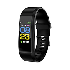 cheap -Smart Bracelet Smartwatch KL115 for Heart Rate Monitor / Pedometers / Message Reminder / Call Reminder Pedometer / Call Reminder / Fitness Tracker / Activity Tracker / Sleep Tracker / Alarm Clock