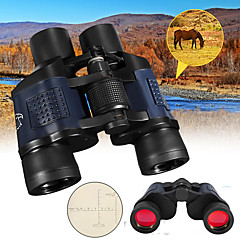 cheap Binoculars, Monoculars & Telescopes-60X60mm Binoculars High Quality Night Vision BAK4 Multi-coated 1000m Central Focusing Camping / Hiking Hunting Trail Aluminium Alloy 7005