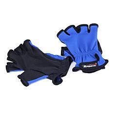 Χαμηλού Κόστους -Γάντια Γάντια Ψαρέματος Χωρίς Δάχτυλα Ανθεκτικό στη φθορά 2 pcs Χωρίς Δάχτυλα Θαλάσσιο Ψάρεμα Αντιολισθητικό Ύφασμα Πολυεστέρας / Ψάρεμα με Μύγα / Δολώματα πετονιάς / Ψάρεμα Πάγου / Περιστρεφόμενο