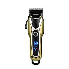 billige Barbering og hårfjerning-Kemei Hair Trimmers til Damer og Herrer 100-240 V Lav lyd / Lett og praktisk