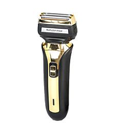 billige Barbering og hårfjerning-Factory OEM Elektriske barbermaskiner til Herrer 220 V Strømlys Indikator / Multifunktion / Lett og praktisk / Ladestatus / Trådløs bruk