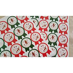 billige Klistremerker og etiketter-Ferie Klistremerker, etiketter og tags - 16pcs Jul Uregelmessig Klistremerker Vinter