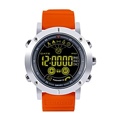 tanie Inteligentne zegarki-Wielofunkcyjny Inteligentny zegarek JSBP-EX19 na Android iOS Bluetooth Spalonych kalorii Współpracuje z iOS i system Android. Powiadamianie o wiadomości Powiadamianie o połączeniu telefonicznym