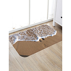 cheap Rugs-Doormats / Bath Mats / Area Rugs Sports & Outdoors / Modern Flannelette, Rectangle Superior Quality Rug / Latex Non Skid