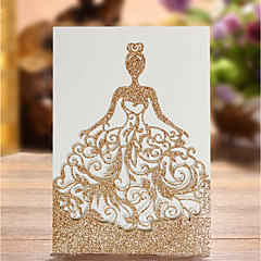 baratos Convites de Casamento-Cartão Raso Convites de casamento Convites para Festas de Noivado Convites para Chá de Casada Convites para Chá de Bebê Cartões para o
