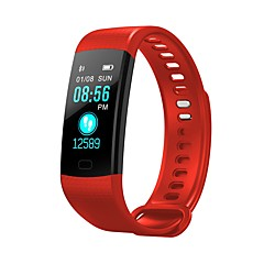tanie Inteligentne zegarki-Inteligentny zegarek Y5 na Android iOS Bluetooth Pulsometry Spalonych kalorii Rejestr ćwiczeń Informacje Stoper Krokomierz Powiadamianie o połączeniu telefonicznym Rejestrator snu / Budzik / 200-250