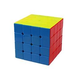 billiga Leksaker och spel-Rubiks kub 1 PCS YongJun D0898 Hämnd 4*4*4 Mjuk hastighetskub Magiska kuber Pusselkub Genomskinligt klistermärke Present Unisex