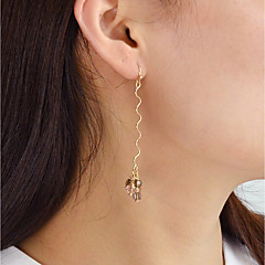 Drop Earrings - Fashion Gold For Daily Date