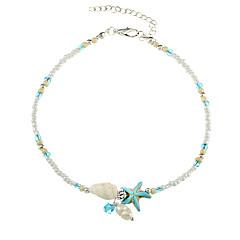 baratos Bijoux de Corps-Pérola Tornezeleira - Imitação de Pérola Estrela do Mar Vintage Branco Para Presente Mulheres