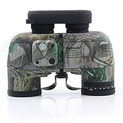 cheap Binoculars, Monoculars & Telescopes-10X50mm Binoculars Concealment Pro Military Range finding Hunting BAK4 Fully Multi-coated 132/1000m Independent Focus Camping / Hiking