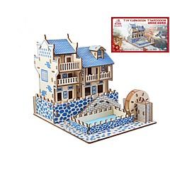 preiswerte -Holzpuzzle Logik & Puzzlespielsachen Landschaften Mode Klassisch Mode Neues Design Profi Level Fokus Spielzeug Stress und Angst Relief