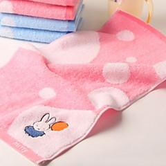 billiga Handdukar och badrockar-Överlägsen kvalitet Tvätt handduk, Tecknat Ren bomull 1 pcs
