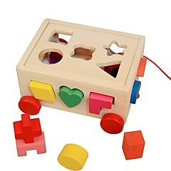 preiswerte -Holzpuzzle / Logik & Puzzlespielsachen Niedlich Hölzern 16pcs Vorschule Geschenk
