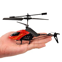 baratos Helicópteros RC-Helicóptero com CR 2 Canais - Mini Luzes LED Mini Ao ar Livre