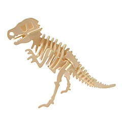cheap -3D Puzzle / Wooden Puzzle Jurassic Dinosaur Wooden 1pcs Kid's All Gift