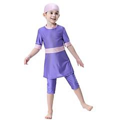 billige Badetøj til drenge-Børn Pige Aktiv Sport / Strand Patchwork Badetøj / Sødt