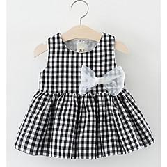 billige Pigekjoler-Baby Pige Geometrisk Uden ærmer Kjole