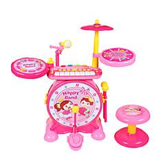 tanie Instrumenty dla dzieci-Perkusja Mini Słodkie Unisex Dla chłopców Dla dziewczynek Zabawki Prezent 2 pcs