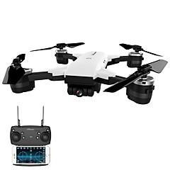 billige Fjernstyrte quadcoptere og multirotorer-RC Drone JD-20 BNF 4 Kanaler 6 Akse 2.4G Med HD-kamera 2.0MP 720P Fjernstyrt quadkopter FPV / En Tast For Retur / Hodeløs Modus