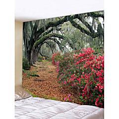 billige Veggdekor-Hage Tema Bryllup Veggdekor polyester Moderne Veggkunst, Veggtepper Dekorasjon