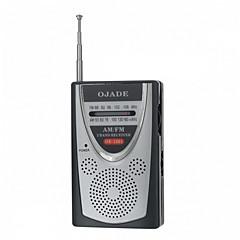 tanie Testery i detektory-OJADE OE-1201 Mini przenośne AM / FM Radio 2-Band
