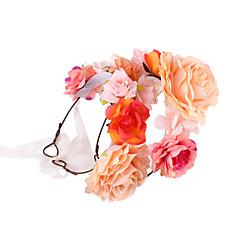 tanie Akcesoria dla dzieci-Dzieci Dla dziewczynek Słodkie Kwiatowy / roślinny Bawełna Akcesoria do włosów / Gumka do włosów
