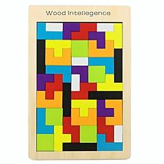 baratos -Quebra-Cabeças de Madeira Criativo / Teste padrão geométrico De madeira 42 pcs Pré escola Todos Dom