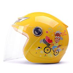 tanie Kaski i maski-YEMA 206 Braincap Dzieci Unisex Kask motocyklowy Odporny na wstrząsy / Odporność na promienie UV / Odporność na wiatr