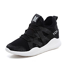 tanie Buty do biegania-Damskie Adidasy / Obuwie na co dzień Guma Fitness / Bieganie Ultra lekki (UL), Oddychający Syntetyczna skóra Biały / Czarny / Różowy