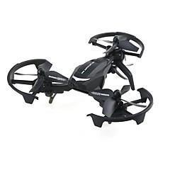 billige Fjernstyrte quadcoptere og multirotorer-RC Drone JJRC NH011 RTF 4 Kanaler 6 Akse 2.4G Fjernstyrt quadkopter En Tast For Retur / Flyvning Med 360 Graders Flipp Fjernstyrt Quadkopter / Fjernkontroll / 1 USD-kabel