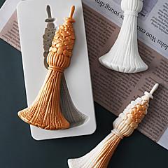 billige Bakeredskap-Bakeware verktøy Silikon Ferie / 3D-tegneseriefigur / Kreativ For kjøkkenutstyr / Til Kake / For Godteri Cake Moulds 1pc