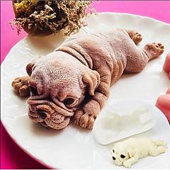 Nástroje na pečení Silikon Půvab / 3D / Udělej si sám Dorty / Čokoládová / pro Candy Zvíře Formy na dorty / Dezertní náčiní 1ks