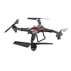 billige Fjernstyrte quadcoptere og multirotorer-RC Drone JJRC D70WG RTF 4 Kanaler 6 Akse 2.4G Med HD-kamera 0.3MP 480P Fjernstyrt quadkopter Hodeløs Modus / Flyvning Med 360 Graders Flipp / Tilgang Real-Tid Videooptakelse Fjernstyrt Quadkopter