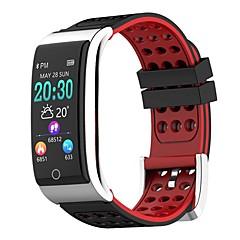preiswerte -Smart-Armband E08 für iOS / Android Wasserfest / Blutdruck Messung / Verbrannte Kalorien / Langes Standby / Schrittzähler Schrittzähler / Anruferinnerung / AktivitätenTracker / Schlaf-Tracker