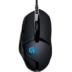 Χαμηλού Κόστους Ποντίκια-Ενσύρματο USB Gaming Mouse Λέιζερ G402 8 pcs κλειδιά Φως LED 4 Ρυθμιζόμενα επίπεδα DPI 8 προγραμματιζόμενα πλήκτρα