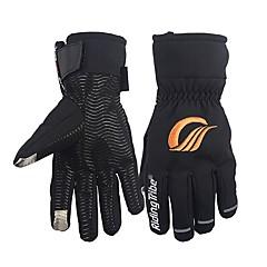 baratos Luvas de Motociclista-RidingTribe Dedo Total Unisexo Motos luvas Microfibra / Algodão Prova-de-Água / Manter Quente / Respirável