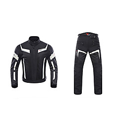 baratos Jaquetas de Motociclismo-DUHAN 185 Roupa da motocicleta Conjunto de calças de jaquetaforHomens Poliéster Verão Resistente ao Desgaste / Antichoque / Respirável