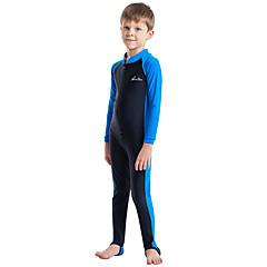 billige Badetøj til drenge-Børn Drenge Aktiv / Sexet Sport / Strand Ensfarvet Kort Ærme Bomuld Badetøj