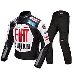 baratos Jaquetas de Motociclismo-DUHAN DUHAN-082 Roupa da motocicleta Conjunto de calças de jaqueta para Todos 600D de poliéster Primavera / Todas as Estações Impermeável / Resistente ao Desgaste / Proteção