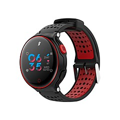 tanie Inteligentne zegarki-Inteligentny zegarek NO.1 X2 plus na Android iOS Bluetooth Wodoodporny Pulsometry Pomiar ciśnienia krwi Ekran dotykowy Spalonych kalorii Stoper Krokomierz Powiadamianie o połączeniu telefonicznym