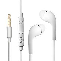 billiga Headsets och hörlurar-Factory OEM S6 I öra / EARBUD Kabel Hörlurar Hörlurar Plast / Plastskal Sport & Fitness Hörlur Stereo / Med volymkontroll headset