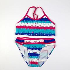 billige Badetøj til piger-Baby Pige Strand Stribet Badetøj