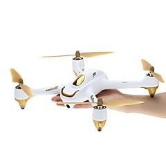 billige Fjernstyrte quadcoptere og multirotorer-RC Drone Hubsan H501S X4 RTF 4 Kanaler 6 Akse 5.8G Med HD-kamera 3.0MP 1080P Fjernstyrt quadkopter En Tast For Retur / Hodeløs Modus / Flyvning Med 360 Graders Flipp Fjernstyrt Quadkopter