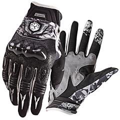tanie Rękawiczki motocyklowe-Scoyco Pełny palec Dla obu płci Rękawice motocyklowe Włókno węglowe Ekran dotykowy / Wodoodporność / Odporny na wstrząsy