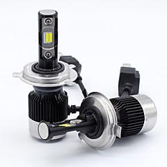 billige Frontlykter til bil-SO.K 2pcs 9003 / H10 / H13 Bil Elpærer 30 W Integrert LED / COB / Høypresterende LED 8000 lm 2 LED Hodelykt Alle år