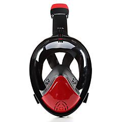 billiga Dykmasker, snorklar och simfötter-Dykmasker / Snorkelmask Anti-Dimma, Heltäckande ansiktsmasker, Under vattnet enda fönster - Simmning, Dykning Silikon - för Vuxen / Barn
