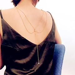 tanie Piercing-Modne Łańcuch nadwozia / Belly Chain - Imitacja pereł Romantyczna, Modny, Elegancja Damskie Złoty / Srebrny Biżuteria Na Klubowa / Bikini