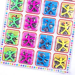 tanie Zabawki magnetyczne-10 pcs Zabawki magnetyczne Magnes Mini Q-Man Magnes Człowiek guma Klocki Silikon Zabawki biurkowe Magnetyczne Dla dzieci Dla chłopców Dla dziewczynek Zabawki Prezent